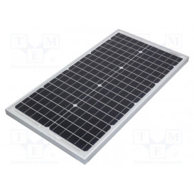 Panel Solar Silicio 18,6V 30W medidas 650x350x25mm