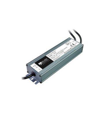 Fuente Alimentador para LEDs 12Vdc 150W 12,5Amp IP67 SILVER  (LPV-150-12)