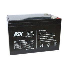 Bateria PLOMO 12Vdc 12Ah AGM medidas 151x98x94mm DSK