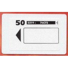 AC11 50 Tarjetas Magneticas para DA01,DA02