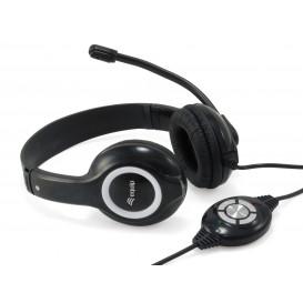 Auriculares Diadema con Microfono USB