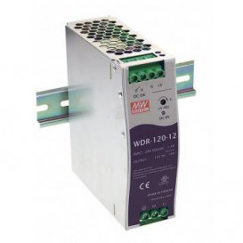 Fuente Alimentacion CARRIL DIN 24Vdc 120W 5Amp  Mean Well