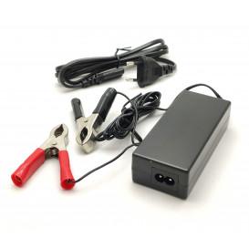 Cargador Baterias Plomo y GEL 12V 2Amp para baterias de 7 a 20Amp