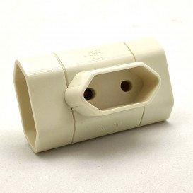 Adaptador 3 Tomas Bipolar 4mm (TRIPLE) Proteccion para niños