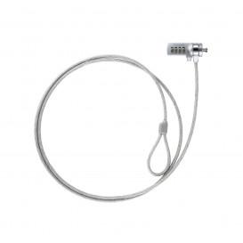 Cable Seguridad para Portatiles con Combinacion 1,5m