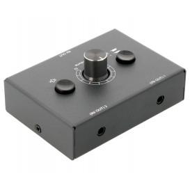 Selector de audio de 2 Canales por Jack 3.5mm.