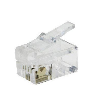 Conector Telefono Modular RJ10  6P2C  39.000/6/2