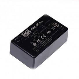 Alimentador de modulo  90W 24VCC 3,7Amp medidas 87x52x29,5mm
