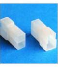 Conector portamacho 2 vias forma T terminales 6,3mm