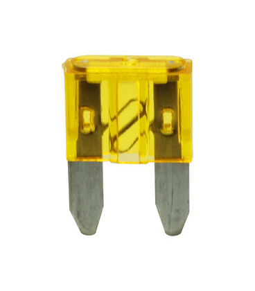 Fusible Plano Miniatura 20Amp Amarillo 11x17mm