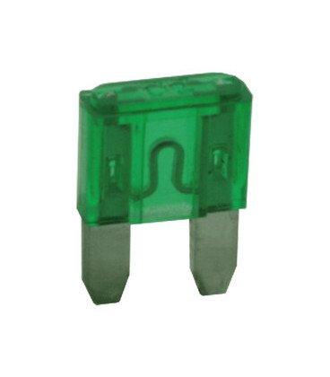 Fusible Plano Miniatura 30Amp Verde 11x17mm