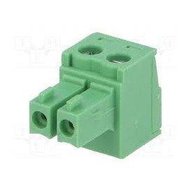 Conector C.Impreso Hembra 2 Contactos Raster 3,81mm