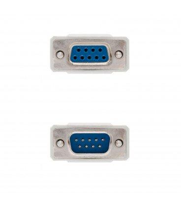 Cable D-Sub9 Macho a D-Sub9 Hembra pin a pin 1,8m