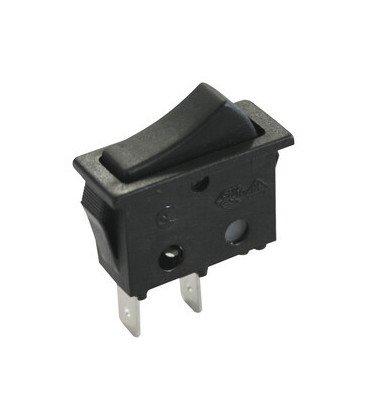 Pulsador Basculante Unipolar NEGRO 11.400P/N
