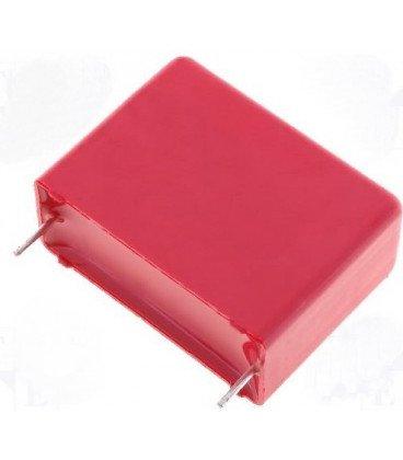 Condensador Poliester 100nF 2000V R27,5mm 100K