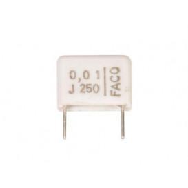 Condensador Poliester 10nF 250V  R10mm 10K