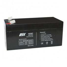 Bateria PLOMO 12V 3,3Ah AGM 134x67x61mm DSK