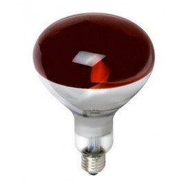 Bombilla Infrarroja E27 150W Rojo Calor