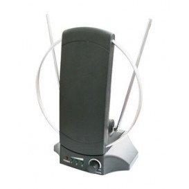 Antena Interior TV con Amplificador 230V