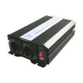 Inversor Corriente  Instalacion Solar 12Vdc a 230Vac 1000W  Onda Modificada