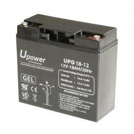Bateria Plomo GEL 12Vdc 18Ah 181x77x167mm T12