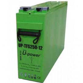 Bateria 12Vdc 250Ah SOLAR C100 EUROBAT U-POWER