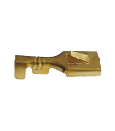 Terminal Faston Hembra 6,3mm con Reten cable 1-2,5