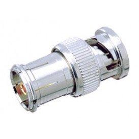 Adaptador BNC Macho a Conector Antena 9,5mm Hembra 19.330