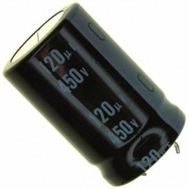 120uF 450Vdc Condensador Electrolitico 2pin