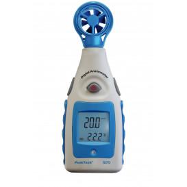 Anemómetro/Termómetro Digital Medidor de velocidad del viento
