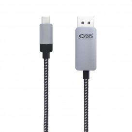 Cable USB-C a Displayport DP2.0  (1.8 m.)