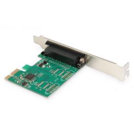 Tarjeta PCI Expesss PCIe a Sub-D25 Paralelo LPT