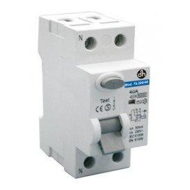 Interruptor Diferencial 1P+N 63Amp/230Vac