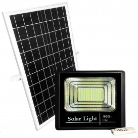 Foco LED 200W a Batería con Placa Solar