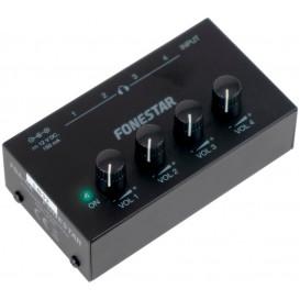 Amplificador Auriculares 4Entradas