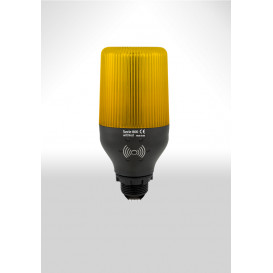 Baliza LED 230Vac Intermitente AMBAR Base E27