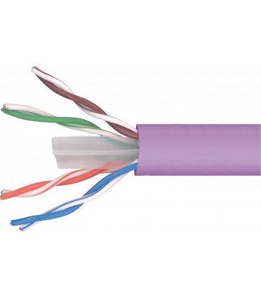 Bobina 305m Cable UTP Cat6 Rigido CCA LSZH TELEVES