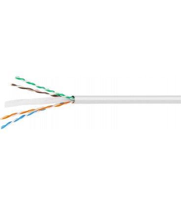 Bobina 305m Cable UTP Cat6 Rigido CCA Caja TELEVES