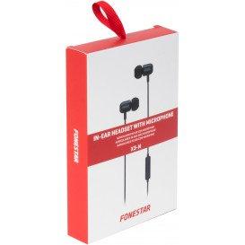 Auriculares In Ear con Microfono Jack 4C NEGRO