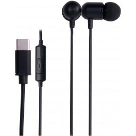 Auriculares In Ear con Microfono USB-C NEGRO
