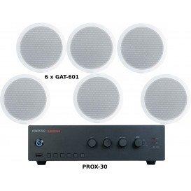Pack Sonorizacion PROX-60 6xGAT-601