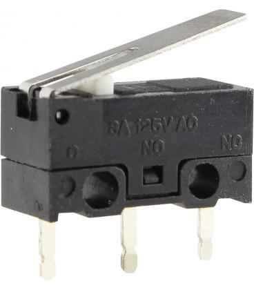 Microrruptor palanca de 13mm.