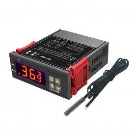 Termostato Digital Controlador Temperatura 100-240V  -50-70º con Sonda SCT-100