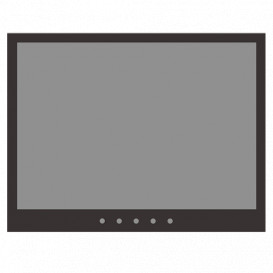 Monitor LED 10in 16:10 1280x800 VGA HDMI SVIDEO BNC