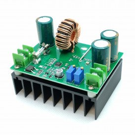Reductor Tension Entrada 10-60Vdc Salida 12-80Vdc 0-10A