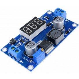 Reductor Tension Entrada 4,3-32Vdc Salida 5-52Vdc 0-4A LCD