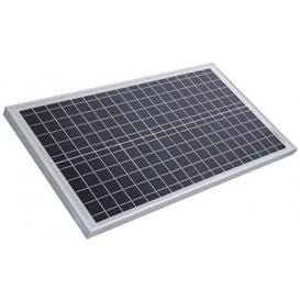 Panel Solar Silicio 30W max. 18,2Vdc 650x350x25mm
