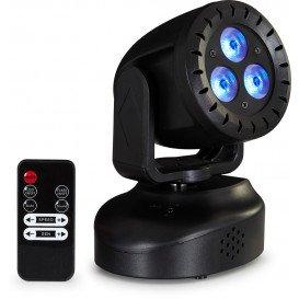 Cabeza Movil LED 3x3W RGBW
