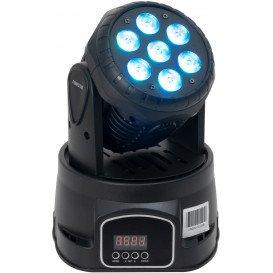 Cabeza Móvil LED WASH DMX con 7 LED RGBW