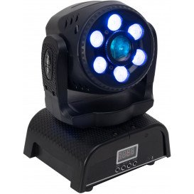 Cabeza Móvil LED Spot Wash DMX RGBW+W